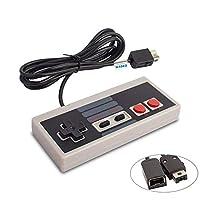 Specificamente progettato per Nintendo Entertainment System: NES Classic Edition (nuova release 2016). Il controller NES Classic porta l'autentico gioco retrò a portata di mano. Può anche essere collegato a un controller Wii Remote, quindi puoi utili...