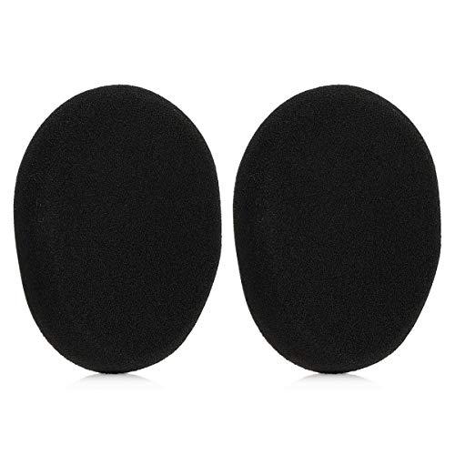 kwmobile 2X Ohrpolster für Logitech H800 Kopfhörer - Schaumstoff Ersatz Ohr Polster für Logitech Overear Headphones