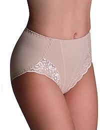 Bauchweg Unterwäsche Damen Miederslip mit Bauch-Weg-Effekt Shapewear Stark Formend Miederhose Bauch Weg Stark Formend Slip
