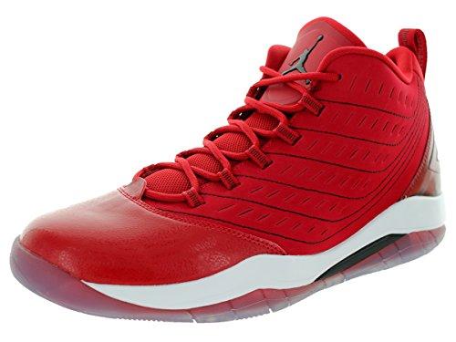Nike Velocity Palestra rosso / nero / bianco / bianco di pallacanestro del pattino 8 US Gym Red/Black/White/White