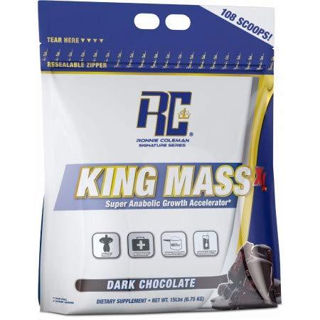 Ronnie Coleman Signature Series King Mass XL 6750g Molken Protein Pulver Muskel (Keks und Sahne (Cookies and cream)) (Xl-protein)