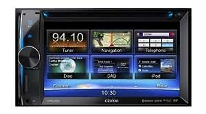 Clarion NX502E GPS Système de Navigation + Ecran Rétractable Europe Fixe, 16:9