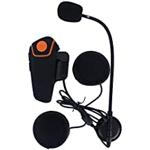 Fodsports BT-S2 800-1000m intercom moto Casco de la motocicleta del intercomunicador intercomunicador de Bluetooth Walkie-talkie