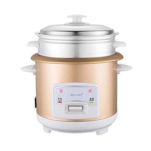Mysida Kleine Mini-Reiskocher-Dampferknopfart Antihaft-Topf - gedämpftes Gemüse, Suppe, Brei, Eintopffleisch, Reis, Kuchen (größe : 2L)