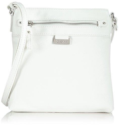 Gabor Umhängetasche Damen Ina, Weiß (weiß 12), 23x23x4 cm, Gabor Handtasche Damen