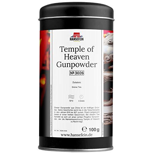 Hansefein Temple of Heaven Gunpowder Grüner Tee 100g in Aromadose