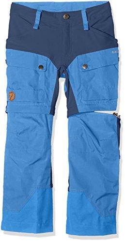 Fjällräven Keb Gaiter Pantaloni Salopette da Lavoro, Unisex Bambini, 80523, Blu (Un Blue), 10/11 Años