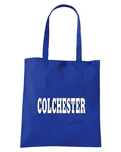 T-Shirtshock - Borsa Shopping WC0770 COLCHESTER Blu Royal