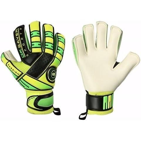 GK Saver guantes de portero de fútbol de niños PS05Kids soporte de corte Tamaño, color NO Finger Protection NO Personalization, tamaño 6 (Junior)