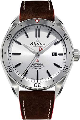 Alpina Geneve ALPINER 4 AL-525SS5AQ6 Orologio automatico uomo Rotore Alpina