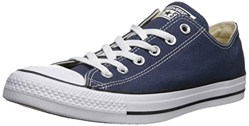 Converse Unisex-Erwachsene Chuck Taylor All Star-Ox Low-Top Sneakers, Blau (Navy), 43 EU