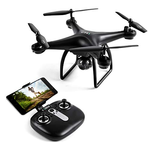 LBLA Drohne mit Kamera HD 720P RC Quadrocopter Helikopter Ferngesteuert, 2.4GHz 3D-Flips Kopflos-Modus, Ideal für Kinder und Anfänger