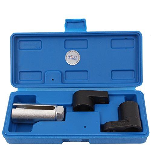 CCLIFE 3 tlg Lambdasonden Steck Schlüssel Stecknüsse Nusssatz Lamdasonde Nüsse Werkzeug