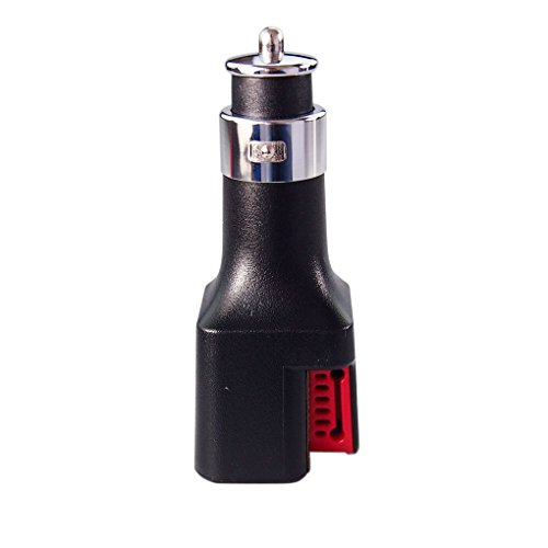 Gankmachine 2-in-1 Dual USB Port KFZ-Ladegerät 2x2A Schnellladung mit Luftreinigern