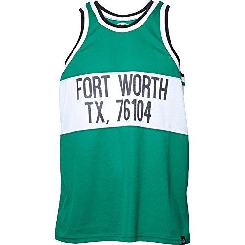 DICKIES canotta Yankeetown kelly green verde tank jersey (M)