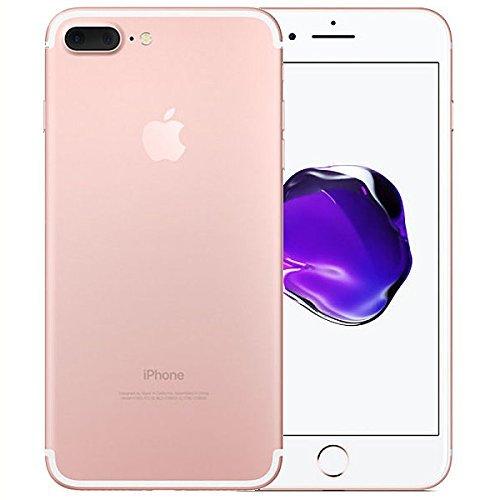 Apple iPhone 7 Plus Smartphone 4G (Display: 5,5' - 128 GB - iOS 10) Oro (Oro rosa) (Ricondizionato)