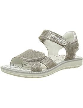 Primigi Mädchen Pat 7609 Offene Sandalen mit Keilabsatz