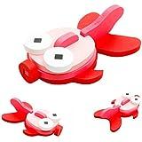 VENMO Montessori mini 3D Puzzle niños educativos divertido juguete colorido de madera Jigsaw regalo (pez)