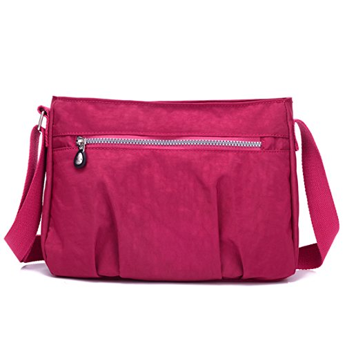 TianHengYi, Borsa a tracolla donna Claret-red
