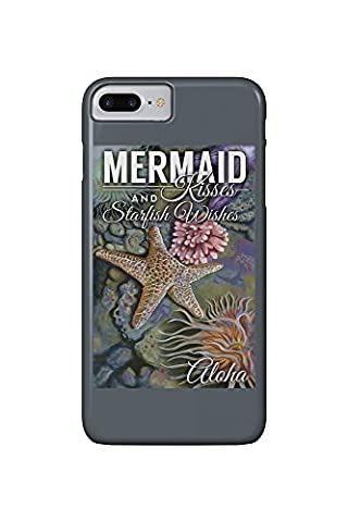 Aloha - Mermaid Kisses and Starfish Wishes - Tidepool (iPhone 7 Plus Cell Phone Case, Slim Barely There)