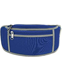 Exercise Waist Pack, 5 Colors Waist Pouch Pack With Adjustable Belt And Earphone Design For Outdoor Running Hiking...