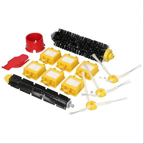 Ersatzteile geeignet für iRobot Saugroboter der Roomba 700 Reihe, 16-teiliges Set inkl. Bürsten und Filter