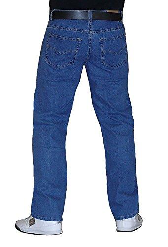 "S&LU Starke Designer Jeans ""DE9001"" Club Style Hose Blue Used oder Deep Blue W34 - W44 (Zwischengrößen!) Blue-Used"