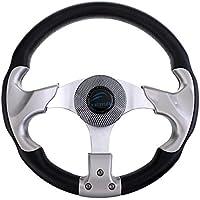 Sharplace 1 Pieza de Volante de Aluminio de Espuma PU Compatible con Barco Yates