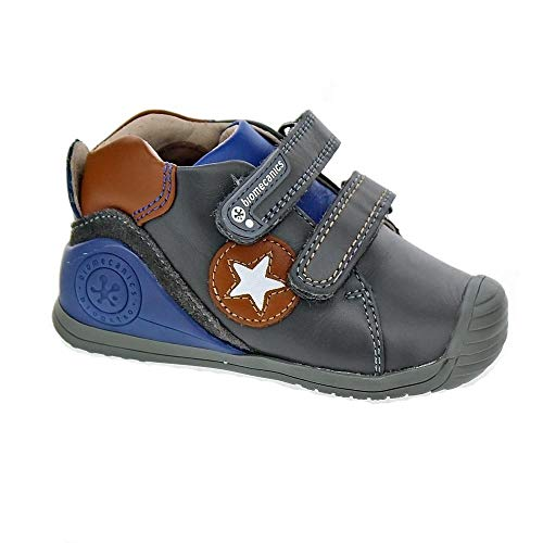 Zapatos de Cordones para niño, Color Gris, Marca BIOMECANICS, Modelo Zapatos De Cordones para Niño BIOMECANICS 181151 Gris