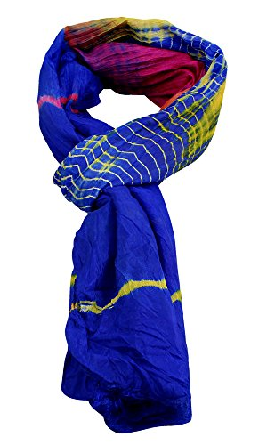 royaltyroute-di-seta-sciarpe-fashion-wrap-accessorio-taglia-unica-blu