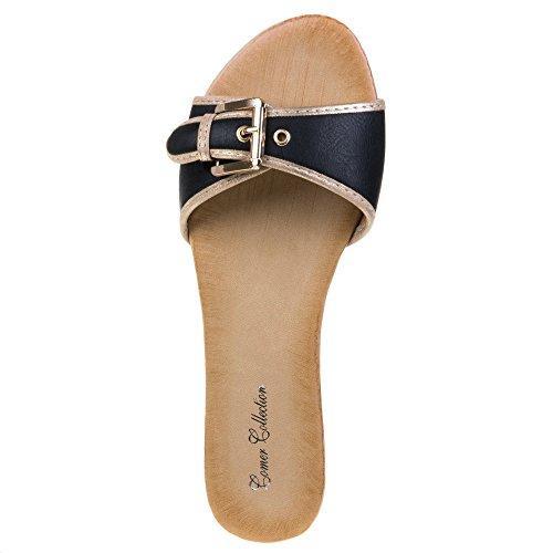 Ital-Design - Sneaker Donna Nero (nero)