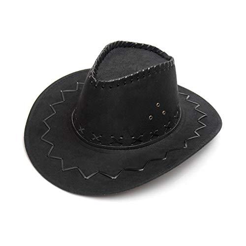e Cowboyhut, breite Krempe, Wildleder ()