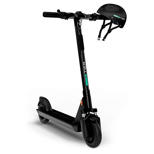 Tier myTIER e-Scooter mit Straßenzulassung | bis zu 40 KM Reichweite | 2,6h Ladezeit | e-Roller für Erwachsene | Elektro-Roller inkl.Helm | StVZO-konformer Cityroller (Generalüberholt)