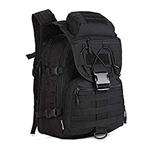 fe5e9662249b SUNVP Tactical MOLLE Assault Backpack Pack Military Army Rucksack 40 L  Large Waterproof Trekking Bag Black