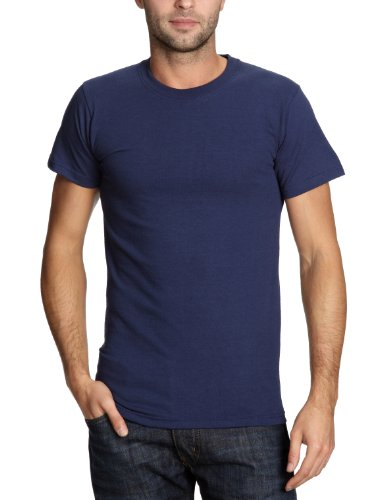 Fruit of the Loom Heavy Cotton T-Shirt in vielen Farben, Blau, 3X-Large (Marine T-shirt Blau Herren)