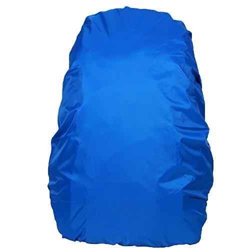 Cubierta Impermeable de Mochila Protector De Lluvia Ajustable para Aire Libre Camping 40-55L(Color Aleatorio)