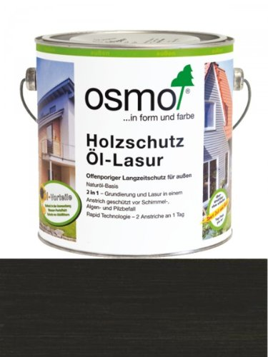 Preisvergleich Produktbild Osmo Holzschutz Öl-Lasur Ebenholz (712) 2,5 Liter