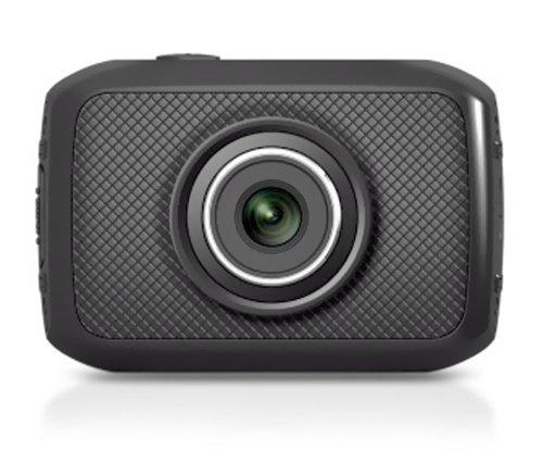 Pyle High-Definition Sport-Action Kamera (720p Weitwinkel Camcorder, 5 Megapixel, 5 cm (2 Zoll) Touchscreen, Micro SD Card Slot) mit wasserdichtes Gehäuse/Montage Ausrüstung für Biking/Reiten/Rennspiele/Skilaufen/Wassersport schwarz