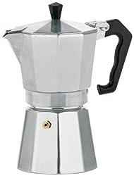 Kela 10590 Espressokocher, 3 Tassen, Aluminium, Italia