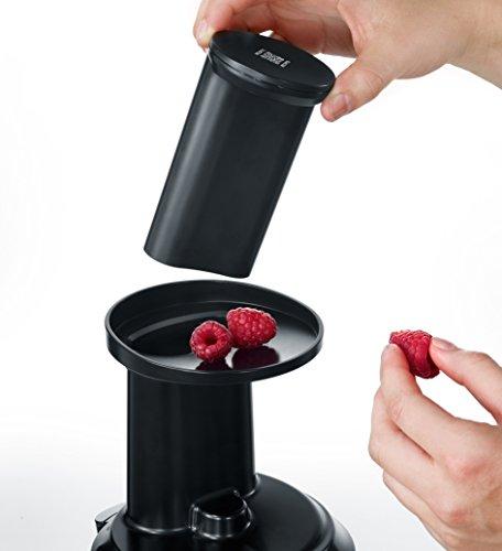 Slow Juicer Entsafter für Gemüse und Obst 150 W Bild 2*