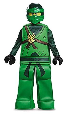 Lego Costume, Kids Ninjago Lloyd Prestige Outfit, Small, Age 4