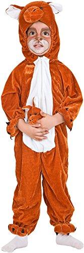 Costume di carnevale da canguro vestito per neonato bambino 1-4 anni travestimento veneziano halloween cosplay festa party 2021 taglia 1
