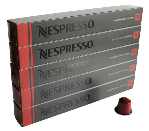 Buy 50 Decaffeinato Intenso Nespresso Capsules - Nespresso