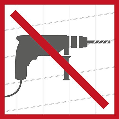 WENKO Turbo-Loc Toilettenpapierrollenhalter – Befestigen ohne bohren - 4