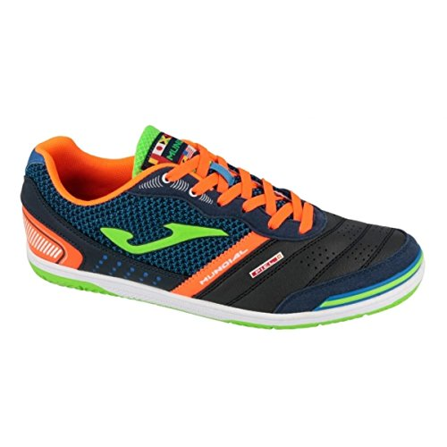 Joma Muns.703.In, Chaussures Futsal Homme Multicolore (Azul / Verde / Naranja)
