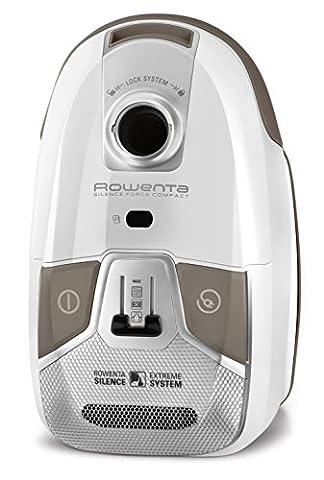 Rowenta RO6327EA Silence Force Compact 4A Aspirateur Blanc 48 x 30 x 26 cm [Classe énergétique a]