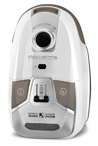 Rowenta Silence Force Compact  - Aspiradora, 750 W, color blanco