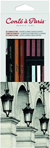 Conté à Paris - Set de esbozo con lápices y barras, multicolor