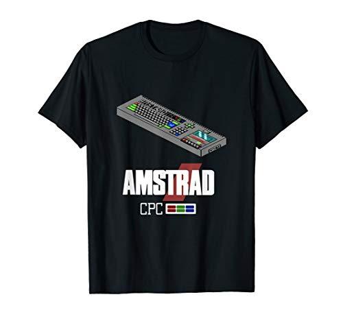 Amstrad CPC 464 80s Computer T-shirt