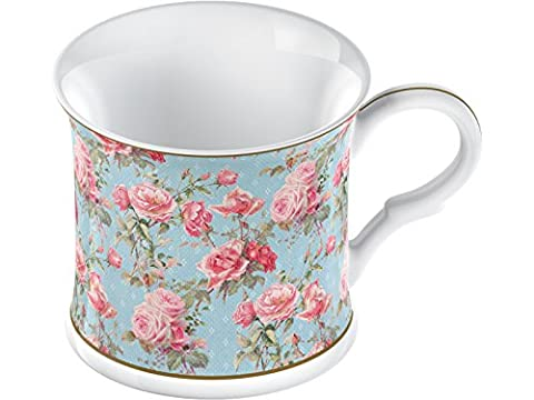 Creative Tops Fine Bone China Rose Queen Footed Palace Mug